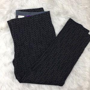 Etro crop wool blend pants sz 46